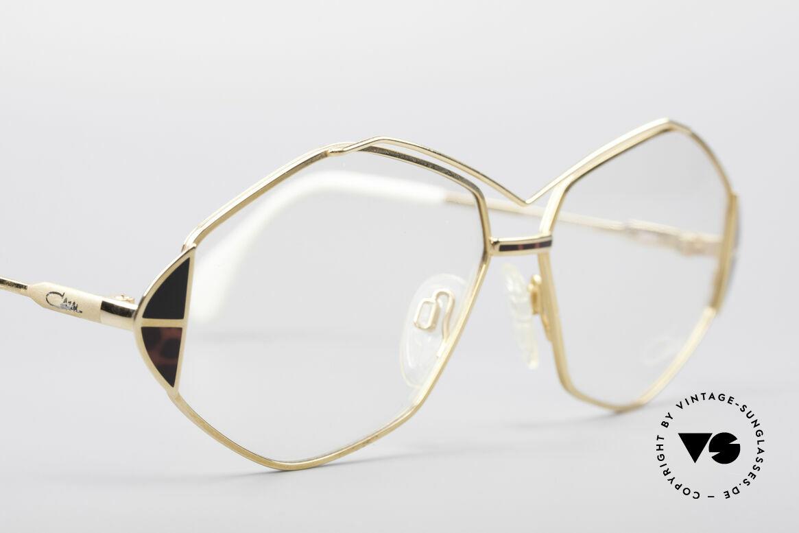 Cazal 233 Echt Vintage No Retro Brille, KEINE Retrobrille, sondern ein altes 80er Original, Passend für Damen