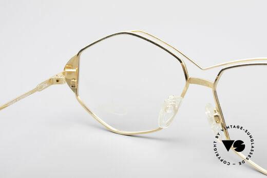 Cazal 233 Echt Vintage No Retro Brille, Fassung ist für optische (Sonnen)gläser geeignet, Passend für Damen