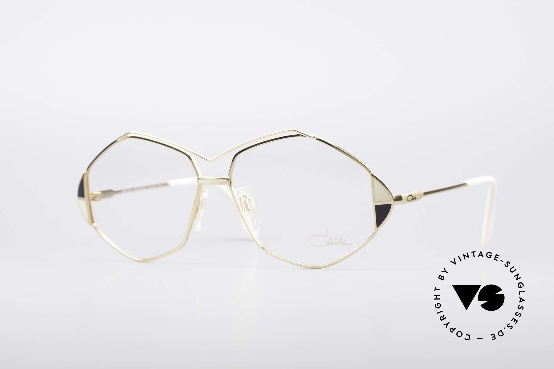 Cazal 233 Vintage West Germany Brille, außergewöhnliche Cazal Brille von ca. 1989/1990, Passend für Damen