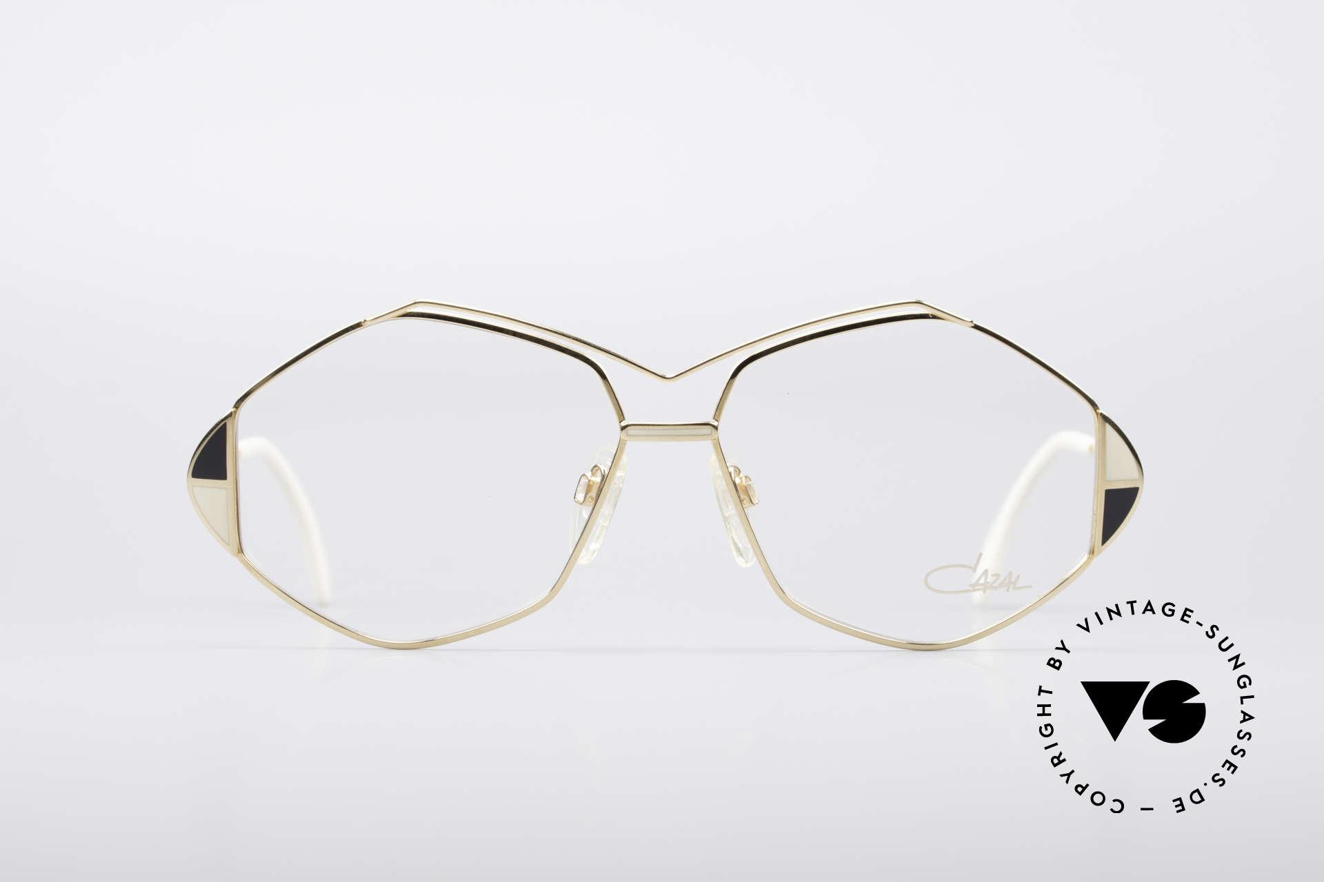 Cazal 233 Vintage West Germany Brille, echtes vintage W.Germany-Original in Gr. 59/14, Passend für Damen