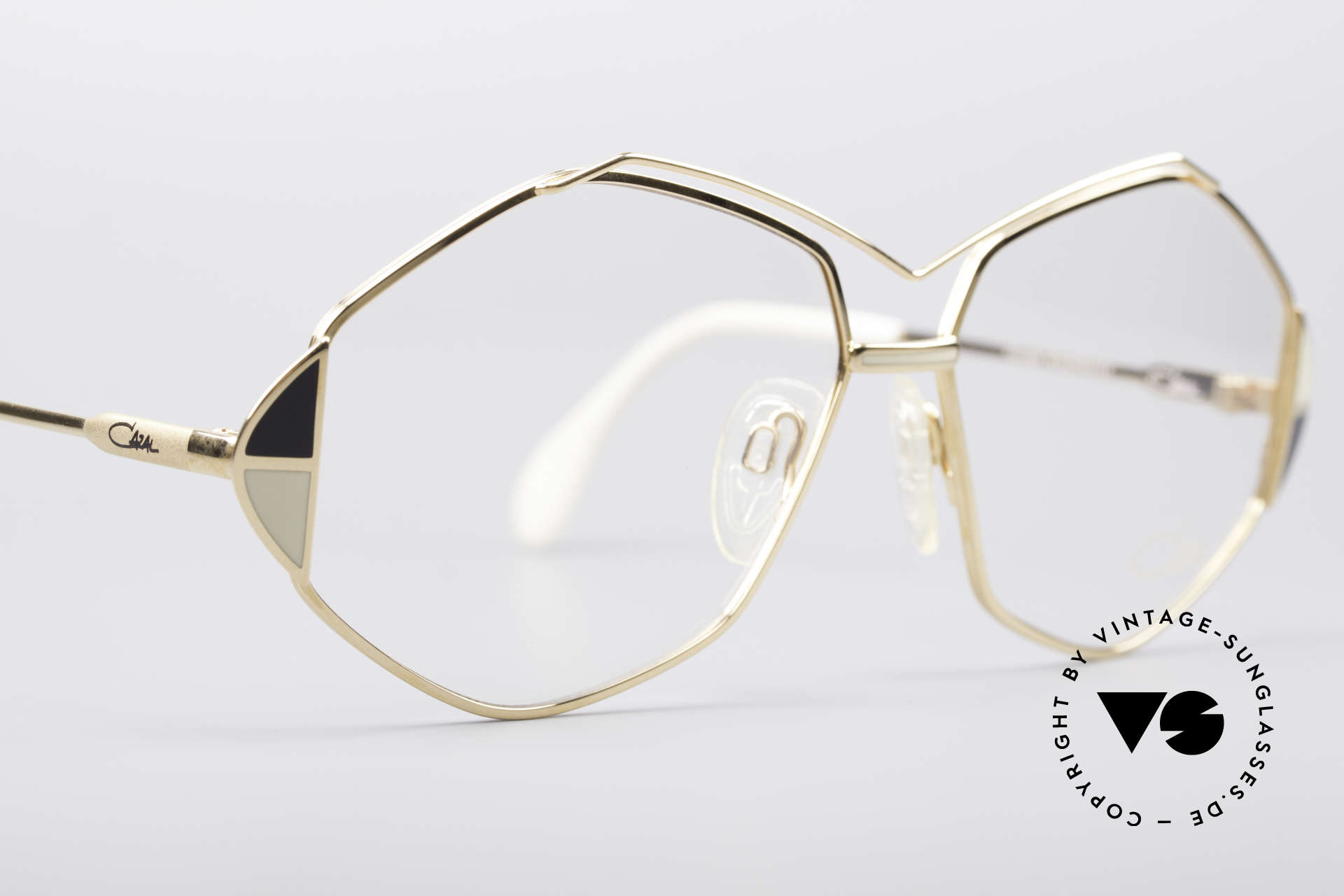 Cazal 233 Vintage West Germany Brille, KEINE Retrobrille, sondern ein altes 80er Original, Passend für Damen