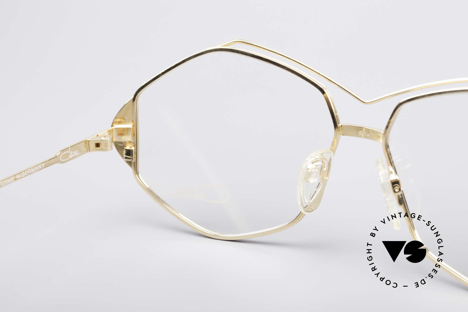Cazal 233 Vintage West Germany Brille, Fassung ist für optische (Sonnen)gläser geeignet, Passend für Damen