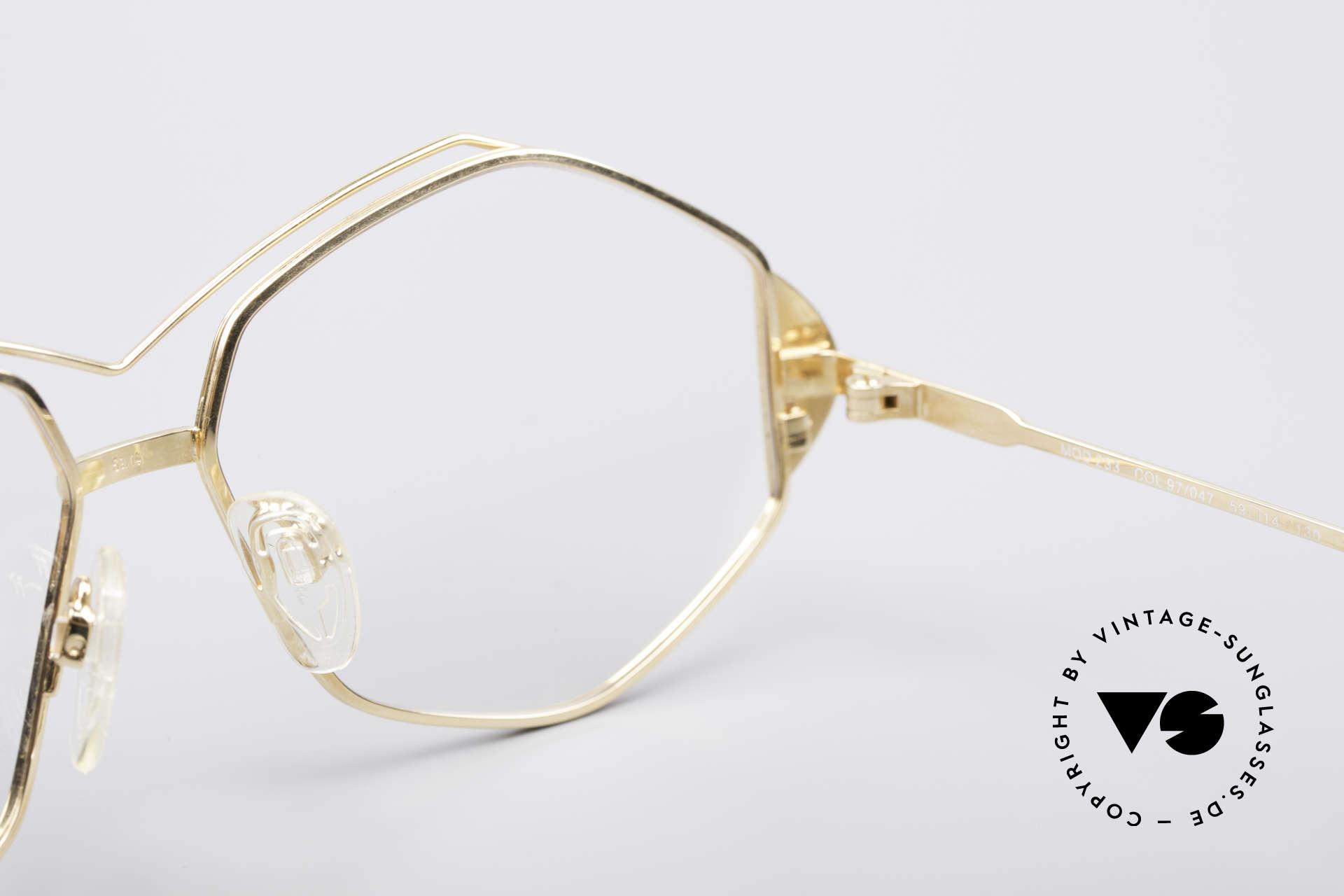 Cazal 233 Vintage West Germany Brille, Größe: large, Passend für Damen