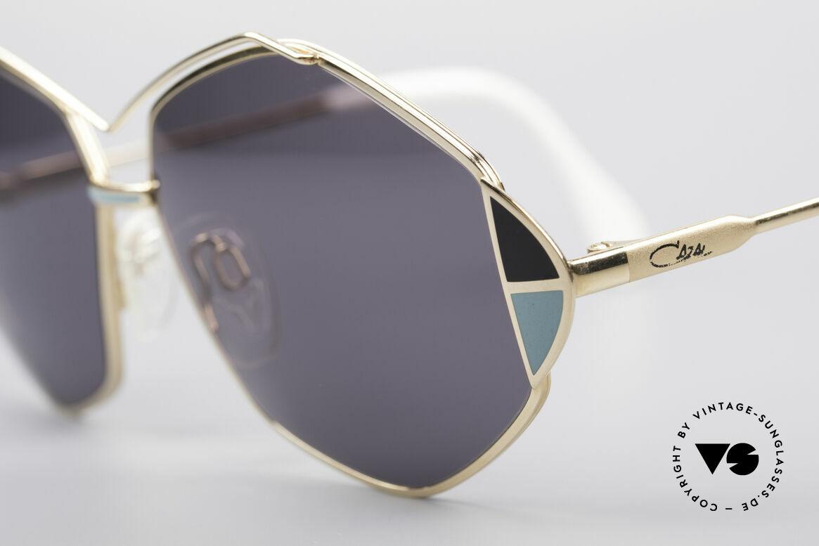 Cazal 233 80er Vintage West Germany, ungetragen (wie alle unsere vintage Cazal Brillen), Passend für Damen
