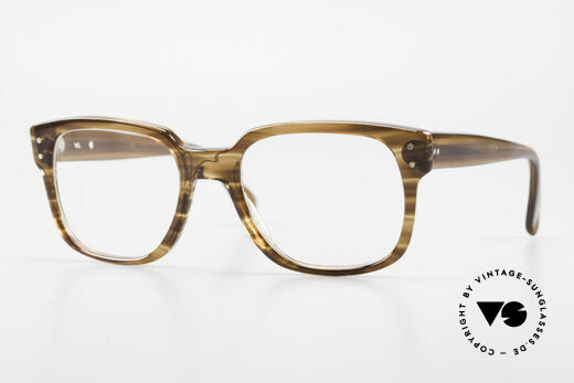 Metzler 447 Original Vintage Brille Herren Details