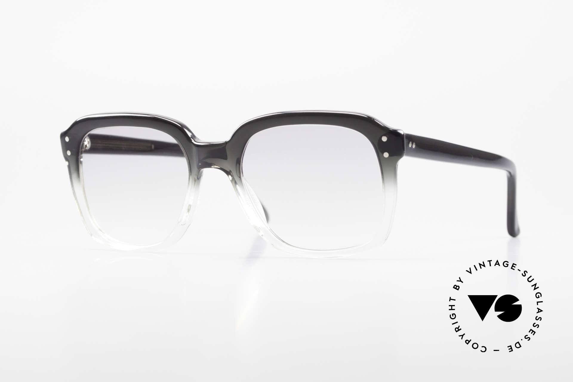 Metzler 449 Echte 70er Original Nerdbrille, alte orig. Metzler Brillenfassung aus den 70ern/80ern, Passend für Herren