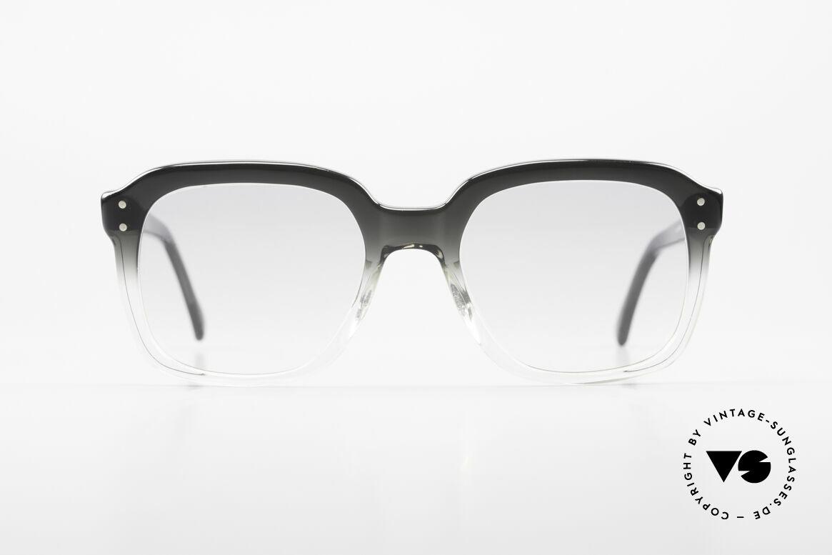 Metzler 449 Echte 70er Original Nerdbrille, damals ein Klassiker; heute als Nerdbrille bezeichnet, Passend für Herren