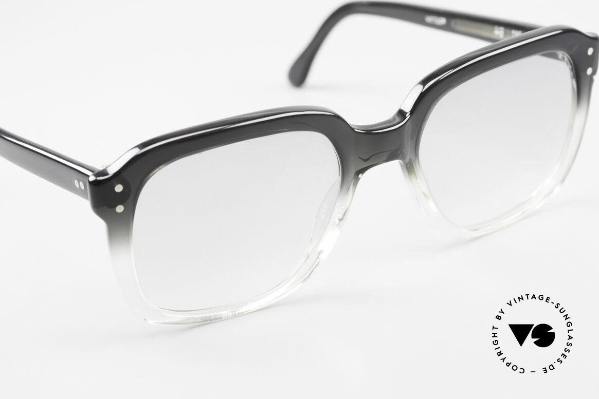 Metzler 449 Echte 70er Original Nerdbrille, ungetragen (wie alle unsere 80er Metzler Nerd Brillen), Passend für Herren
