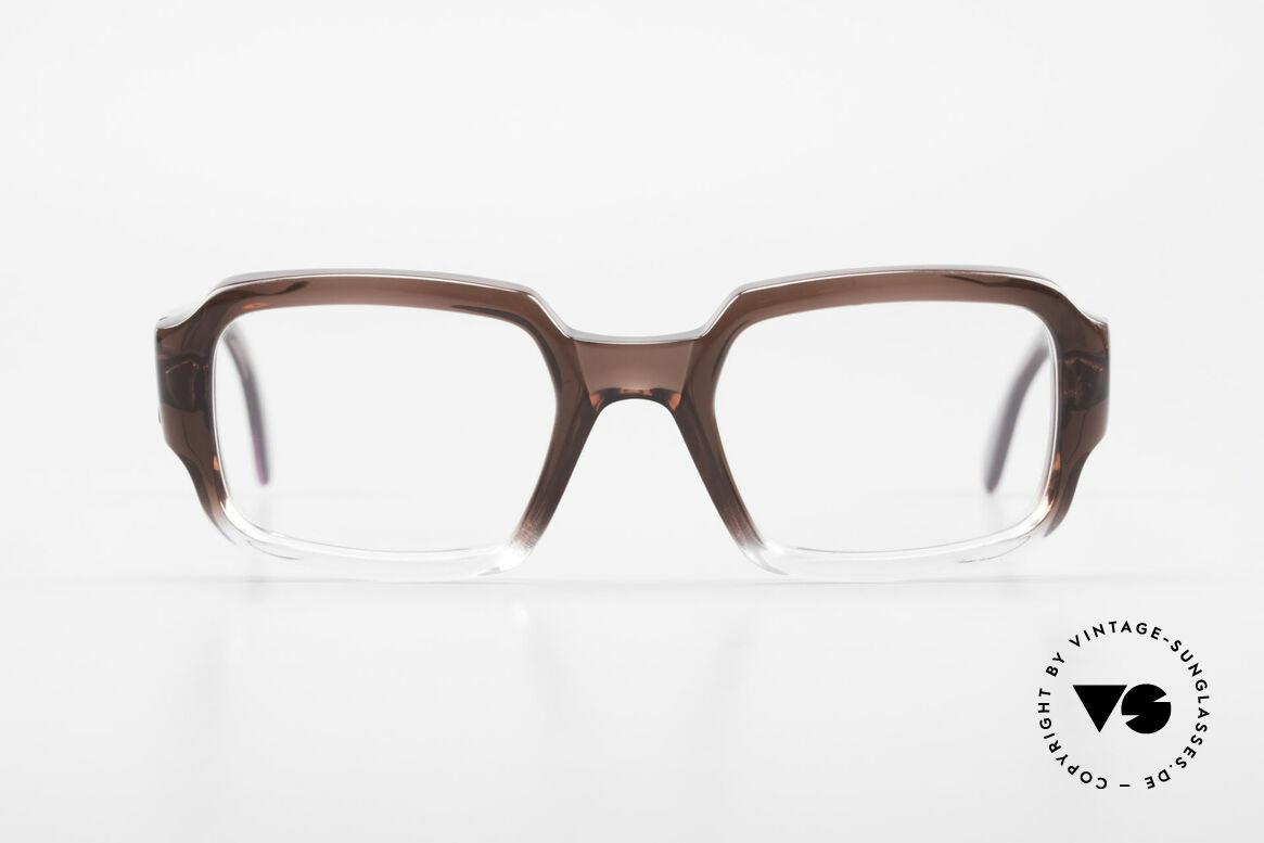 Metzler 4005 Alte Original Marwitz Brille, orig. MARWITZ Brillenfassung aus den 70ern/80ern, Passend für Herren