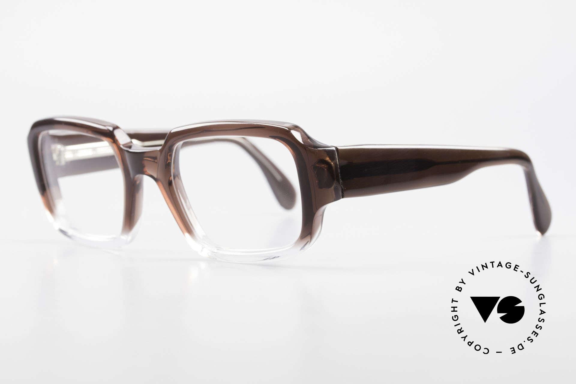 Metzler 4005 Alte Original Marwitz Brille, absolut identisch zu den alten METZLER Modellen, Passend für Herren