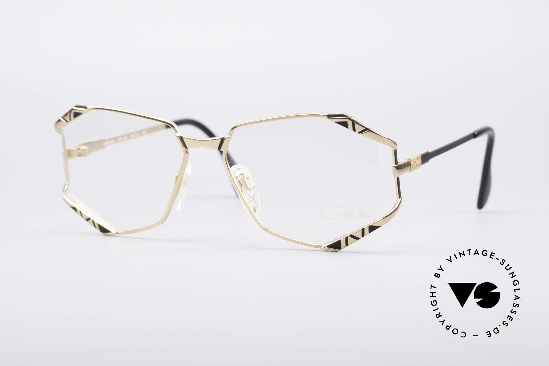 Cazal 245 90er Designer Damenbrille, zauberhaftes Cazal Design aus den 1990er Jahren, Passend für Damen