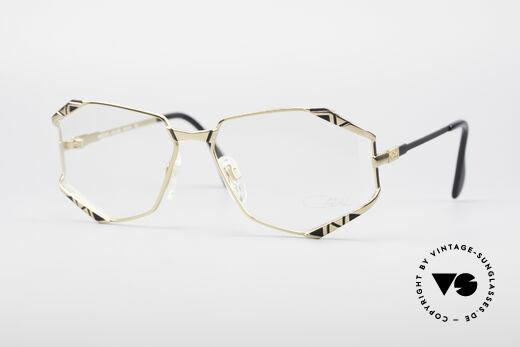 Cazal 245 90er Designer Damenbrille Details