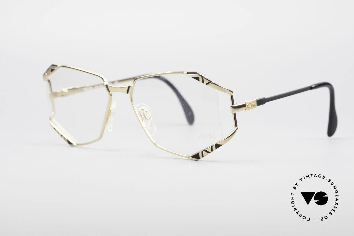 Cazal 245 90er Designer Damenbrille, tolle Metallarbeiten und außergewöhnlicher Look, Passend für Damen