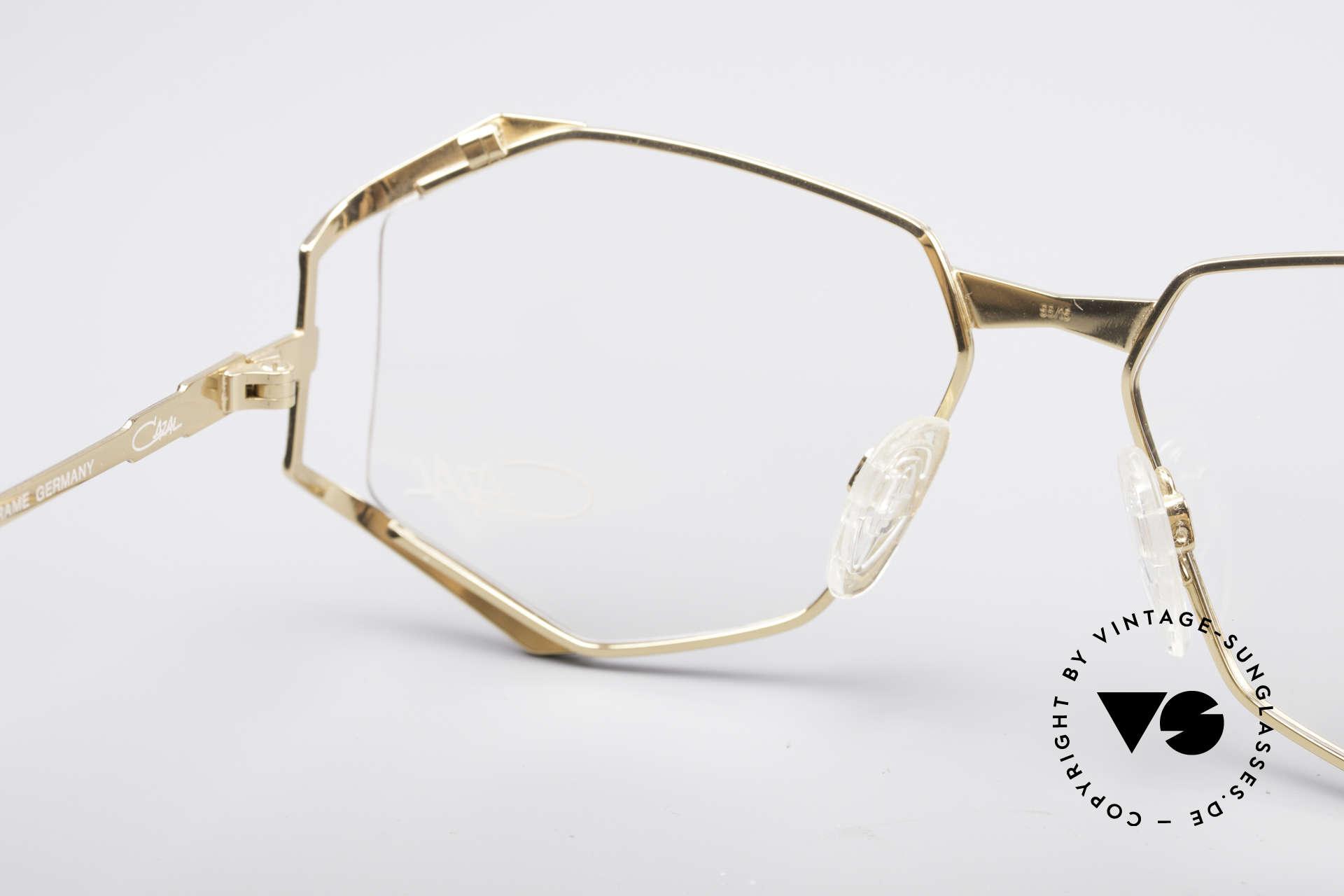 Cazal 245 90er Designer Damenbrille, Größe: medium, Passend für Damen
