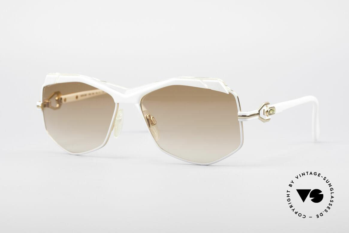 Cazal 230 80er Hip Hop Sonnenbrille, tolle 80er Jahre Cazal Designersonnenbrille, Passend für Damen