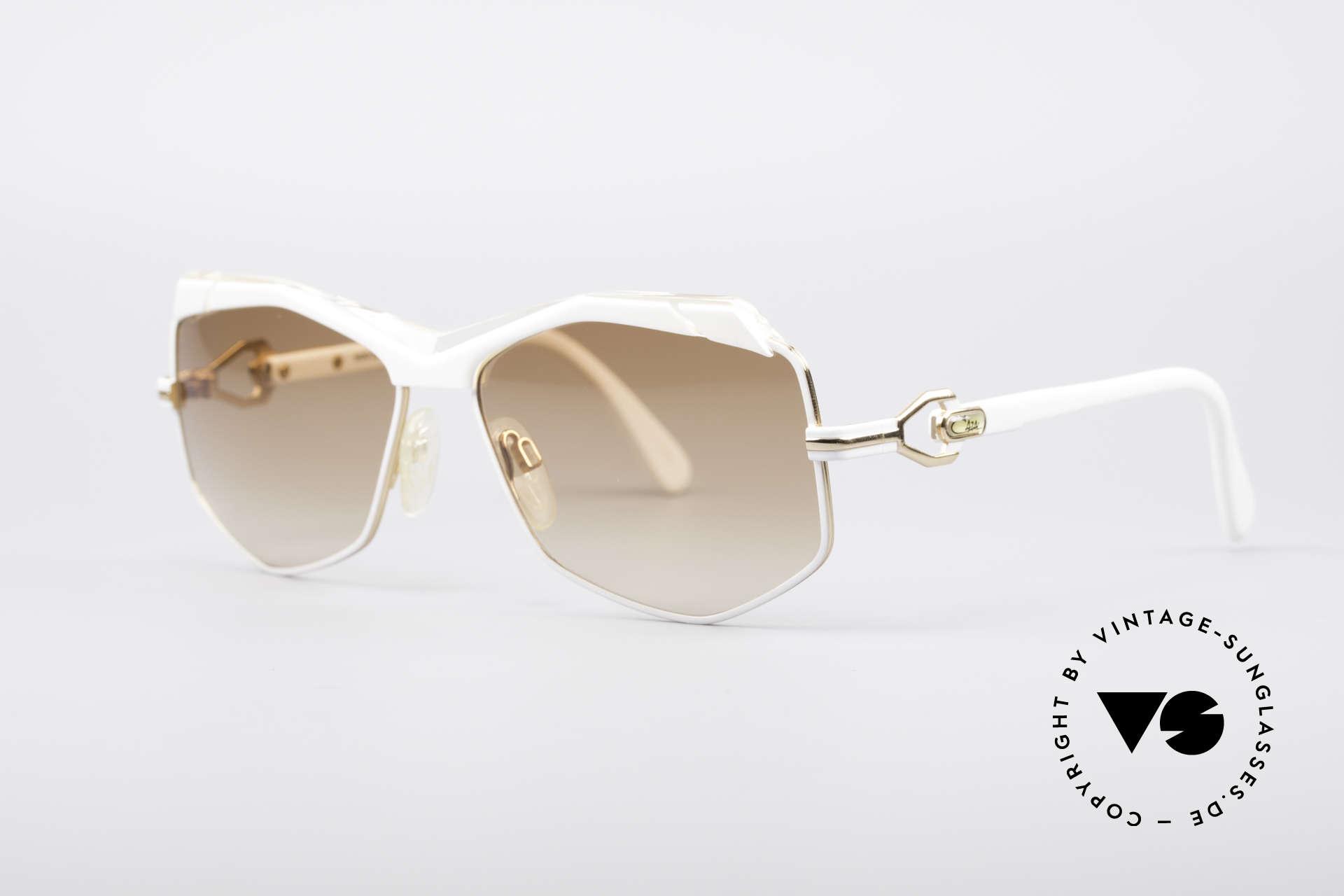 Cazal 230 80er Hip Hop Sonnenbrille, Handarbeit aus Passau (FRAME W.GERMANY), Passend für Damen