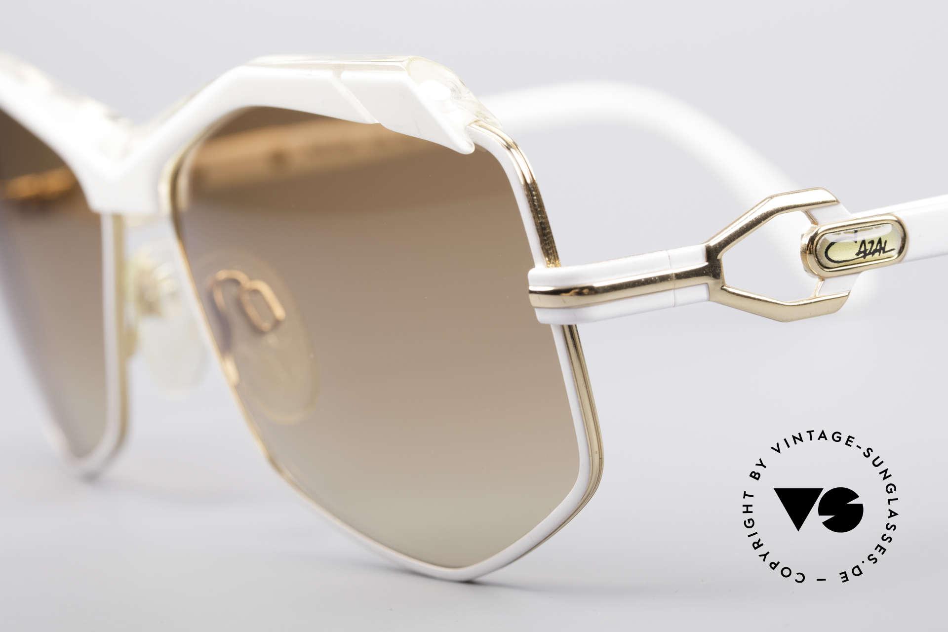 Cazal 230 80er Hip Hop Sonnenbrille, damals Accessoire der amerik. HipHop Szene, Passend für Damen