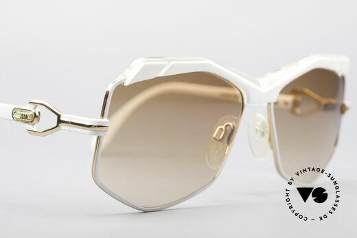 Cazal 230 80er Hip Hop Sonnenbrille, KEINE Retrobrille; ein 30 Jahre altes Original, Passend für Damen