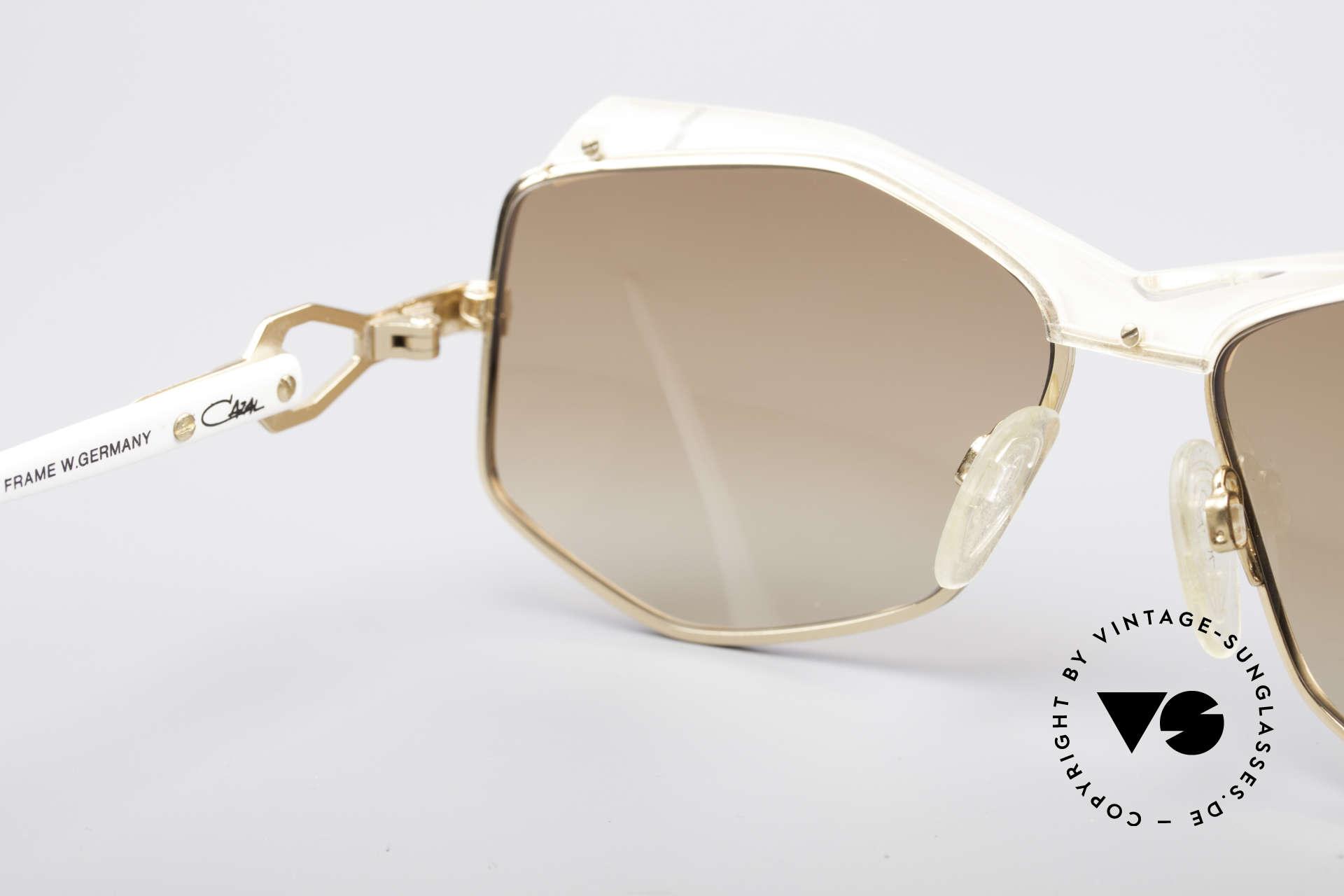 Cazal 230 80er Hip Hop Sonnenbrille, Größe: medium, Passend für Damen