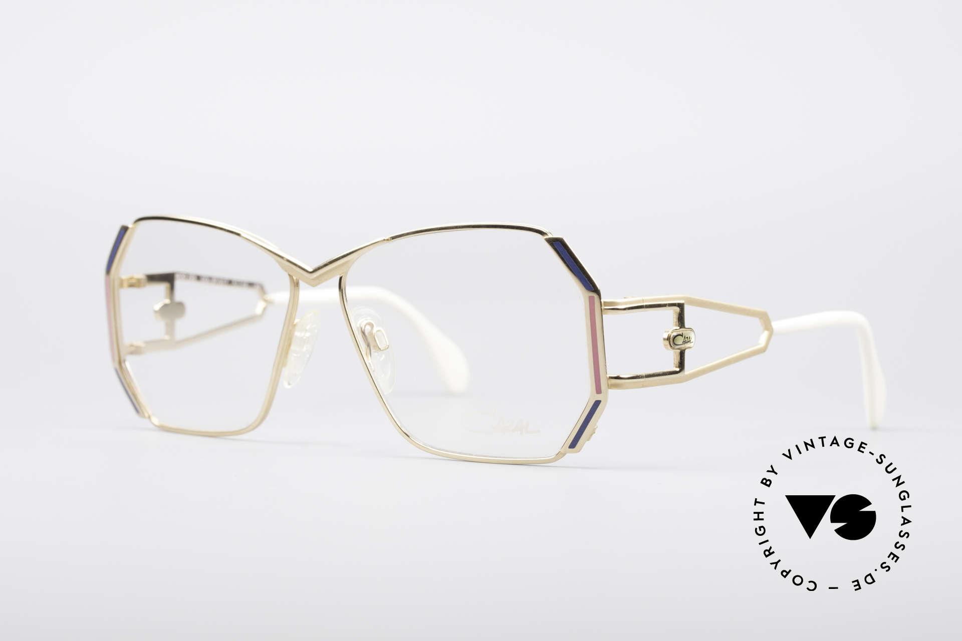 Cazal 225 80er Old School HipHop Brille, beliebtes HipHop Accessoire - damals wie auch heute, Passend für Damen