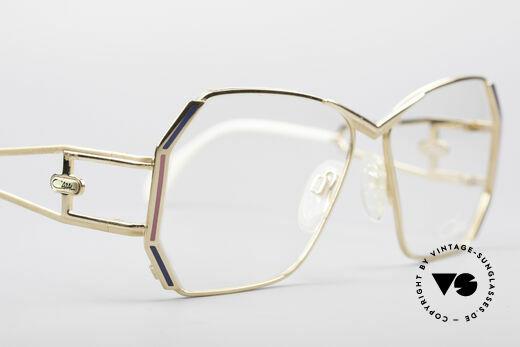 Cazal 225 80er Old School HipHop Brille, die Fassung ist für optische (Sonnen)-Gläser geeignet, Passend für Damen