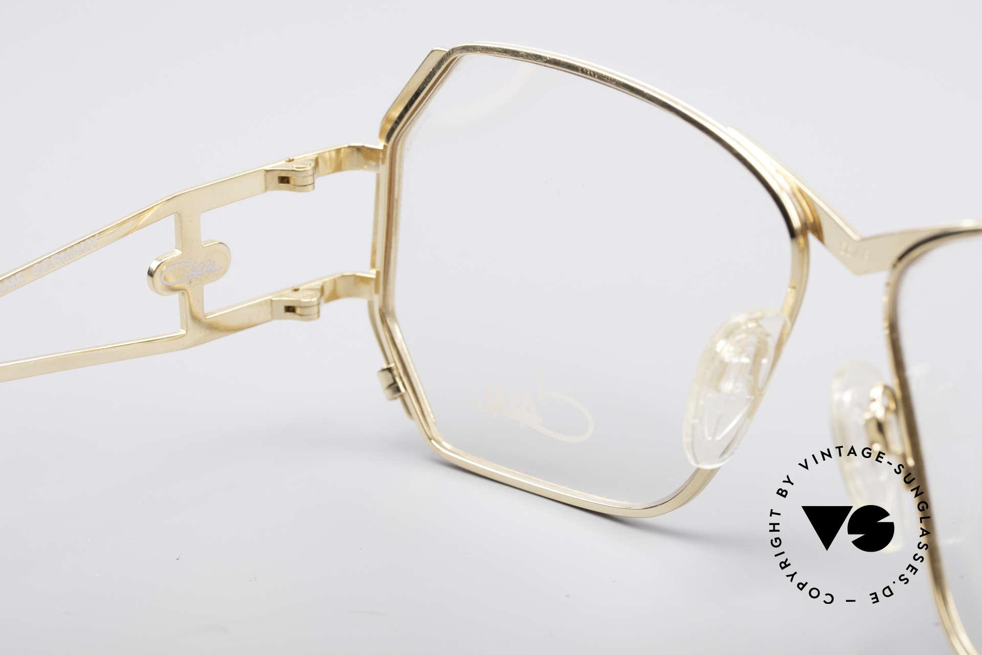 Cazal 225 80er Old School HipHop Brille, Größe: medium, Passend für Damen