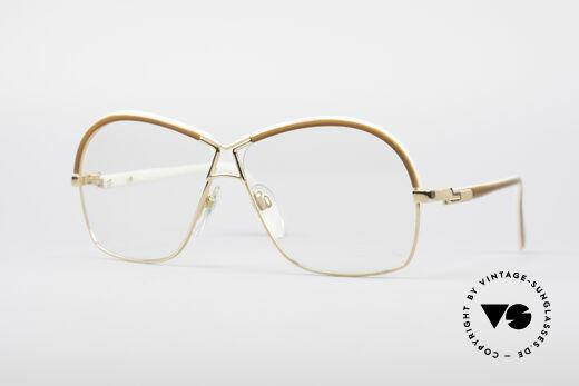 Cazal 223 Echt 80er Vintage Brille Details