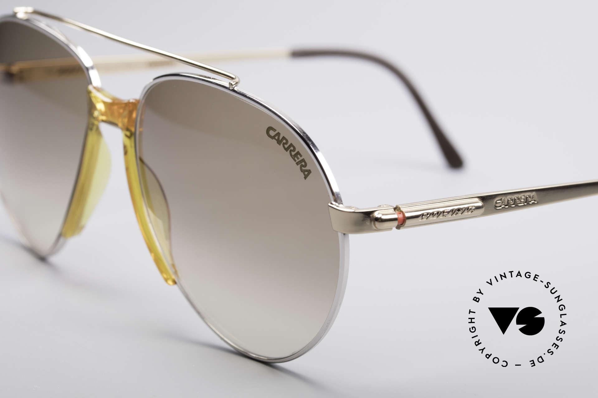 Boeing 5734 Rare 80er Pilotensonnenbrille, entsprechend hochwertig & kostbar (vergoldete Teile), Passend für Herren und Damen