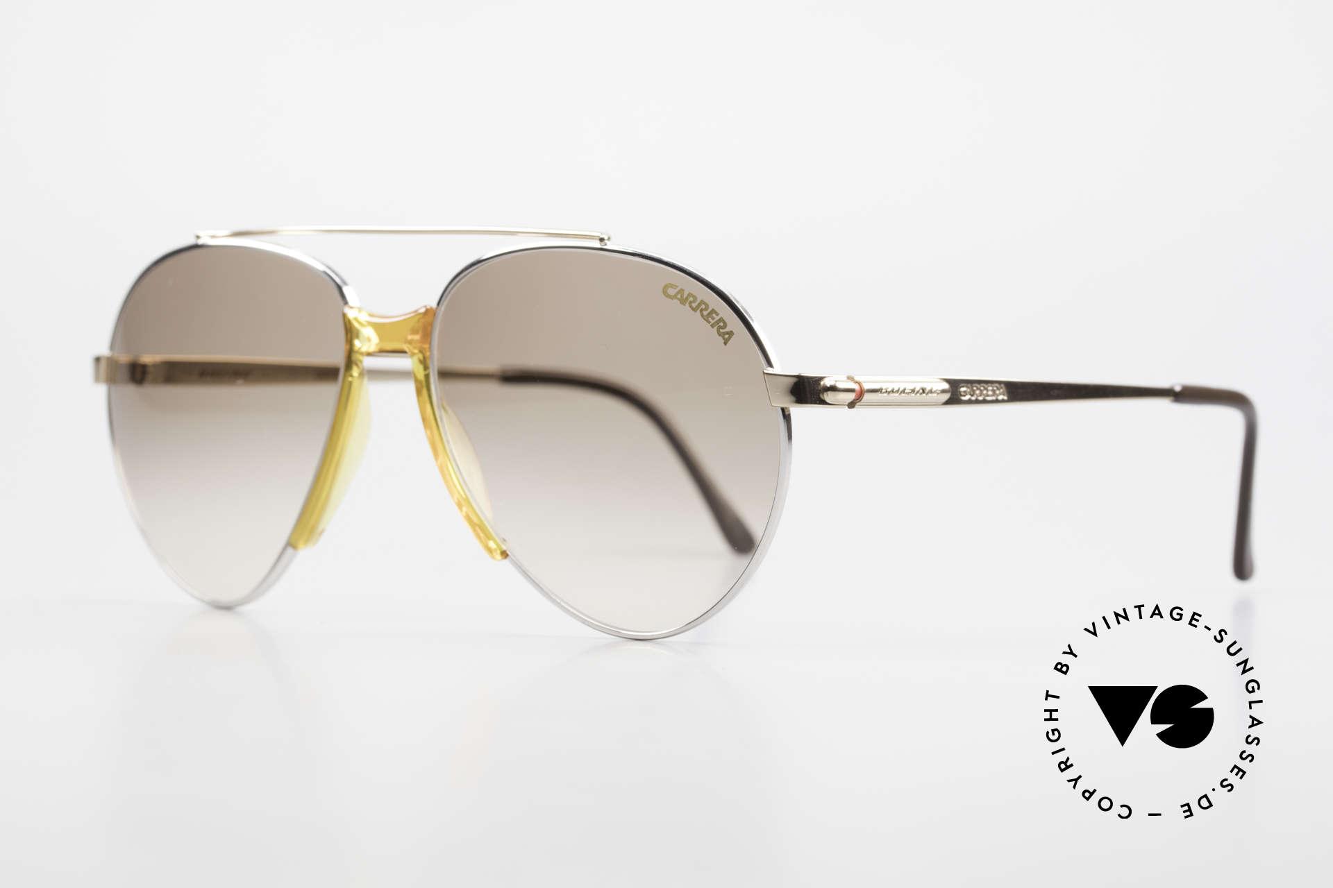Boeing 5734 Rare 80er Pilotensonnenbrille, Ende der 80er extra für die Boeing-Piloten produziert, Passend für Herren und Damen