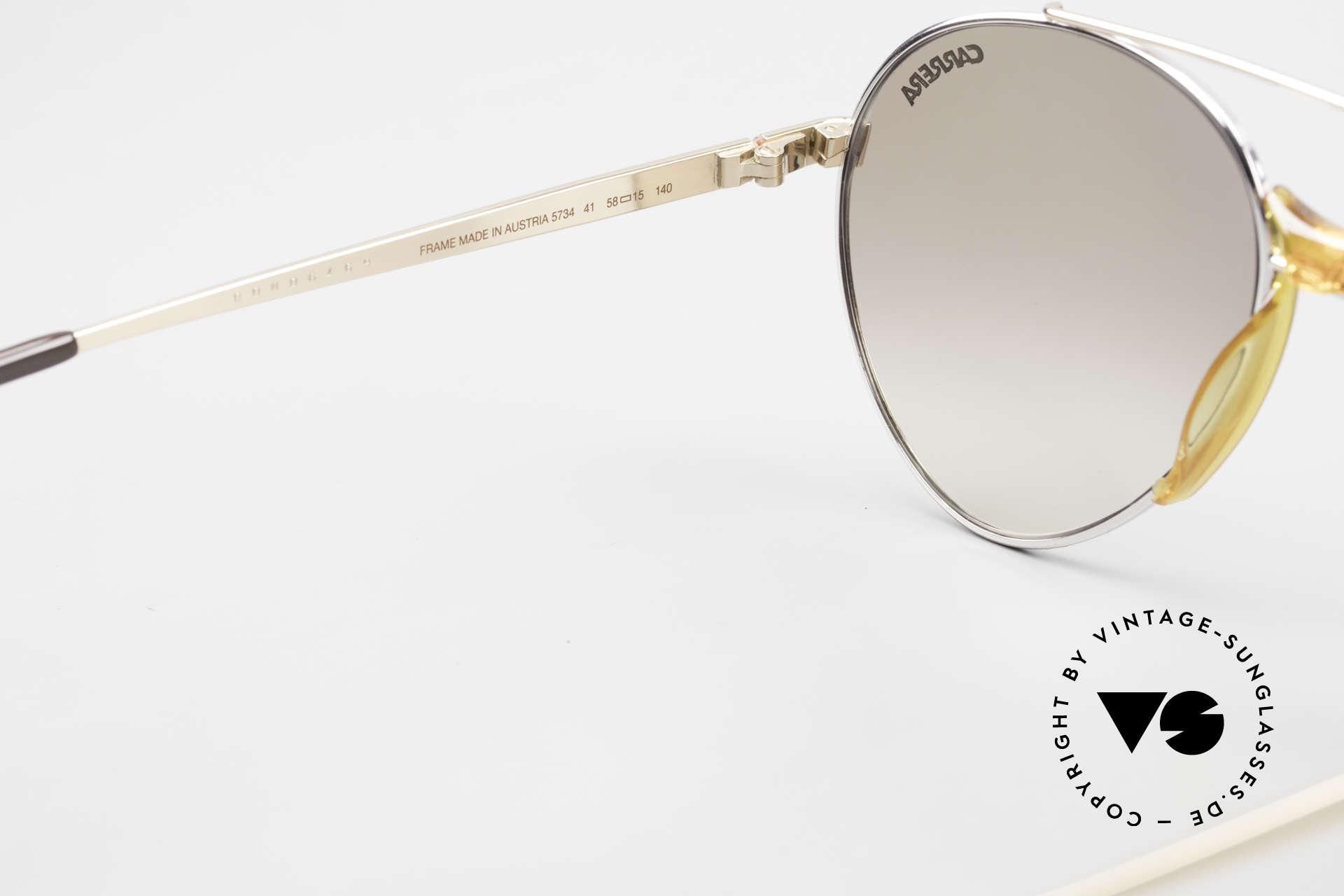 Boeing 5734 Rare 80er Pilotensonnenbrille, ungetragen (wie alle unsere vintage BOEING Brillen), Passend für Herren und Damen