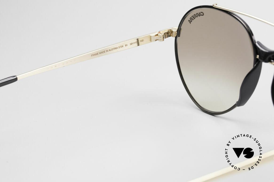 Boeing 5734 Alte 80er Sonnenbrille Aviator, ungetragen (wie alle unsere vintage BOEING Brillen), Passend für Herren und Damen