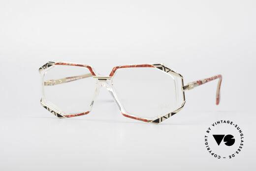 Cazal 355 Spektakuläre Vintage Brille Details