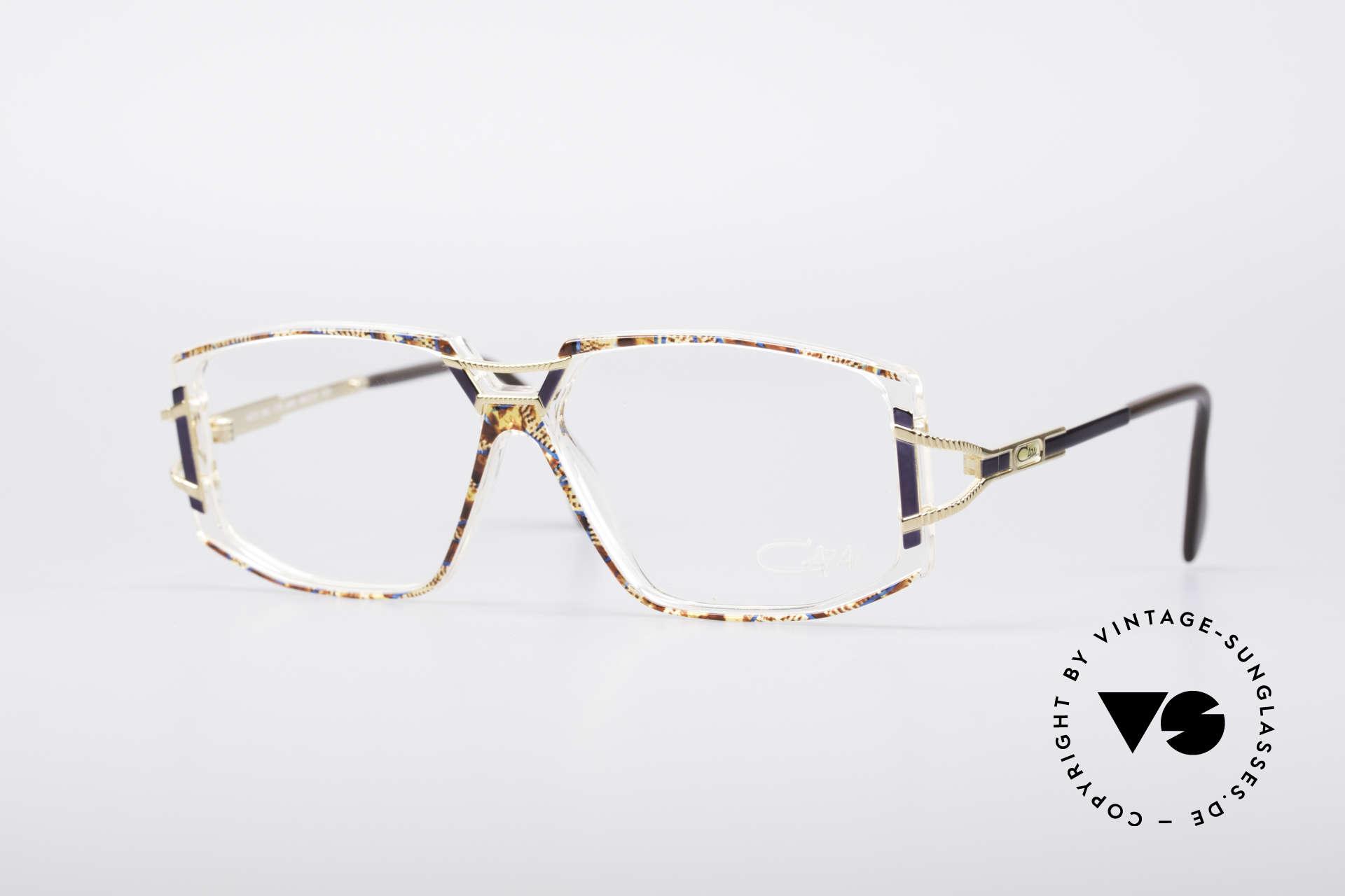 Cazal 362 No Retro 90er Vintage Brille, schmuckvolles Cazal Design der frühen 90er Jahre, Passend für Damen