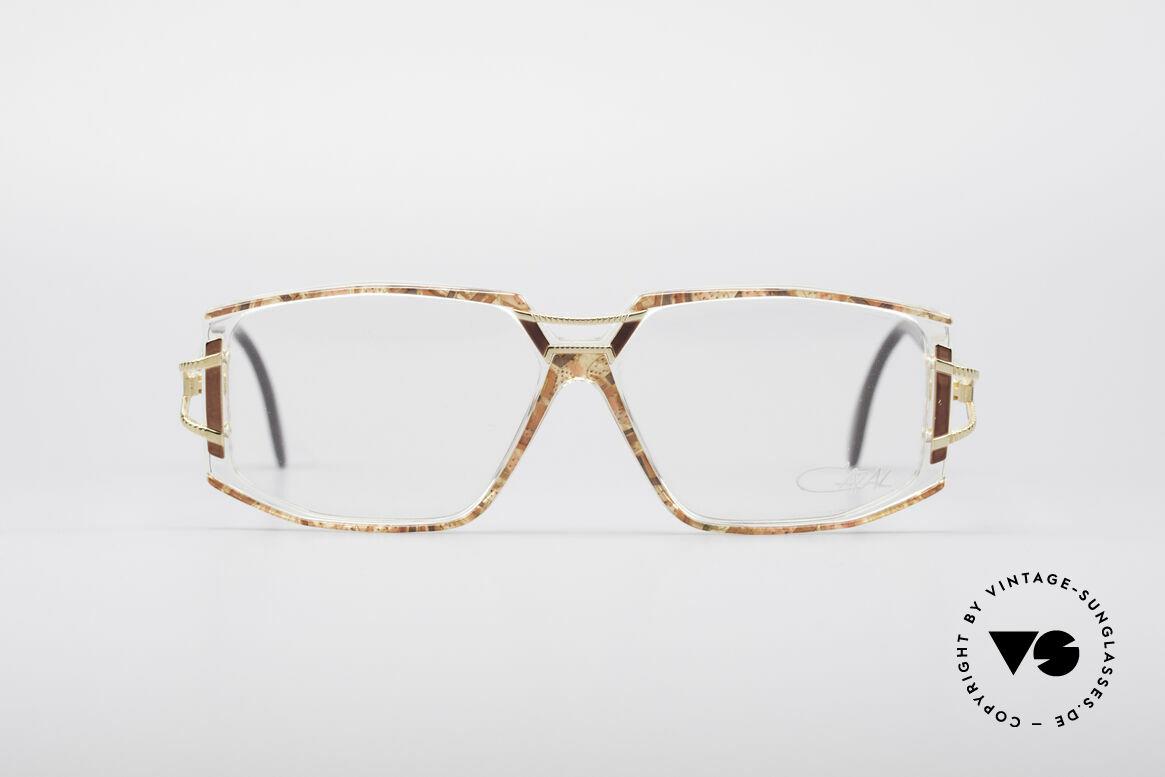 Cazal 362 No Retro 90er Vintage Brille, tolle Gestaltung der Bügelgelenke & Rahmenfront, Passend für Damen