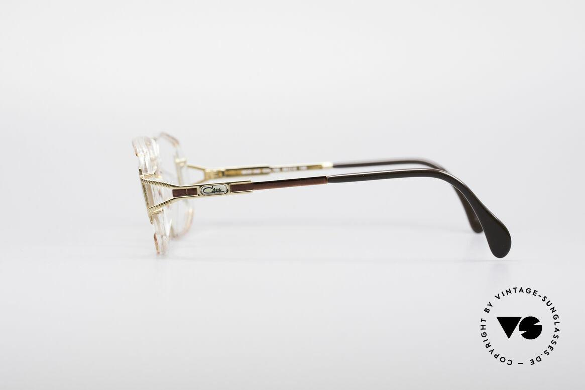 Cazal 362 No Retro 90er Vintage Brille, genaue Cazal Farbbezeichnung: kupfergold / kristall, Passend für Damen