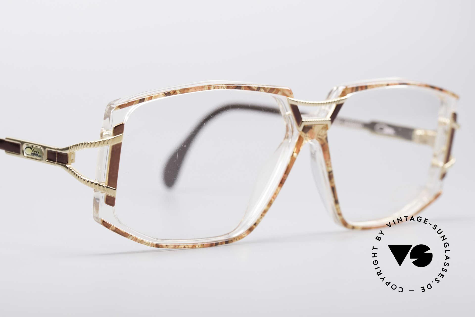 Cazal 362 No Retro 90er Vintage Brille, KEINE Retrobrille; ein echtes altes 1990er Original, Passend für Damen