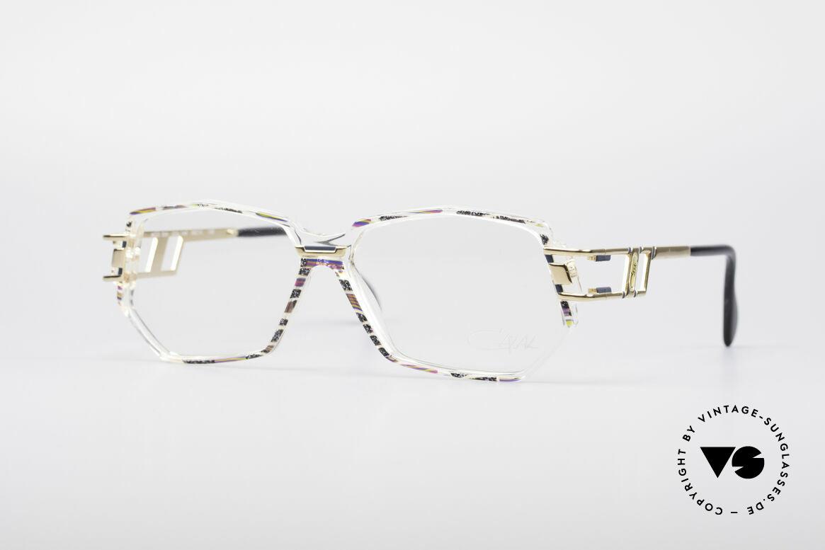 Cazal 359 90er HipHop Style Brille, vintage Cazal Designer-Brille in Medium Größe 56-12, Passend für Damen