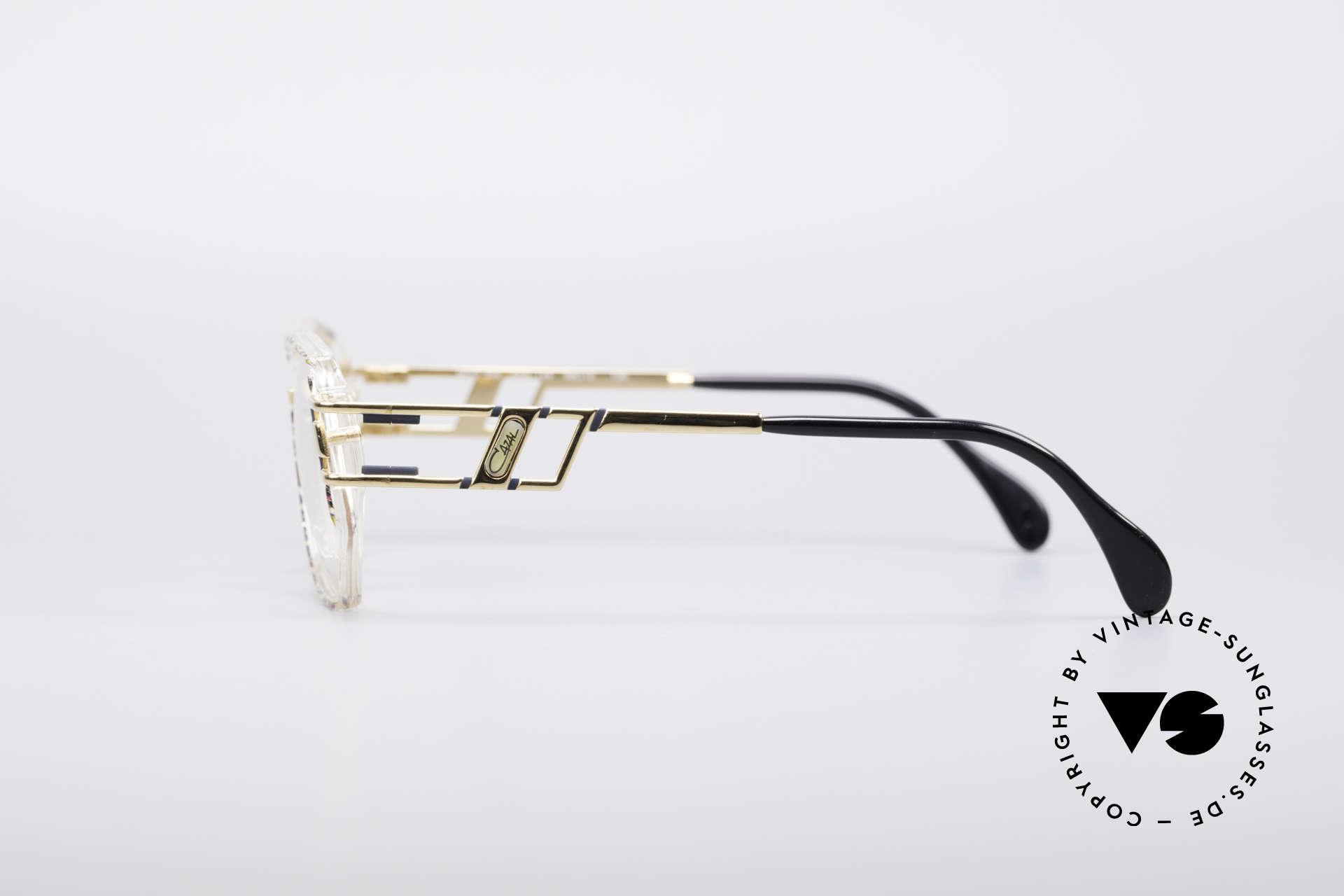 Cazal 359 90er HipHop Style Brille, ein echter Hingucker und beliebtes HipHop Accessoire, Passend für Damen
