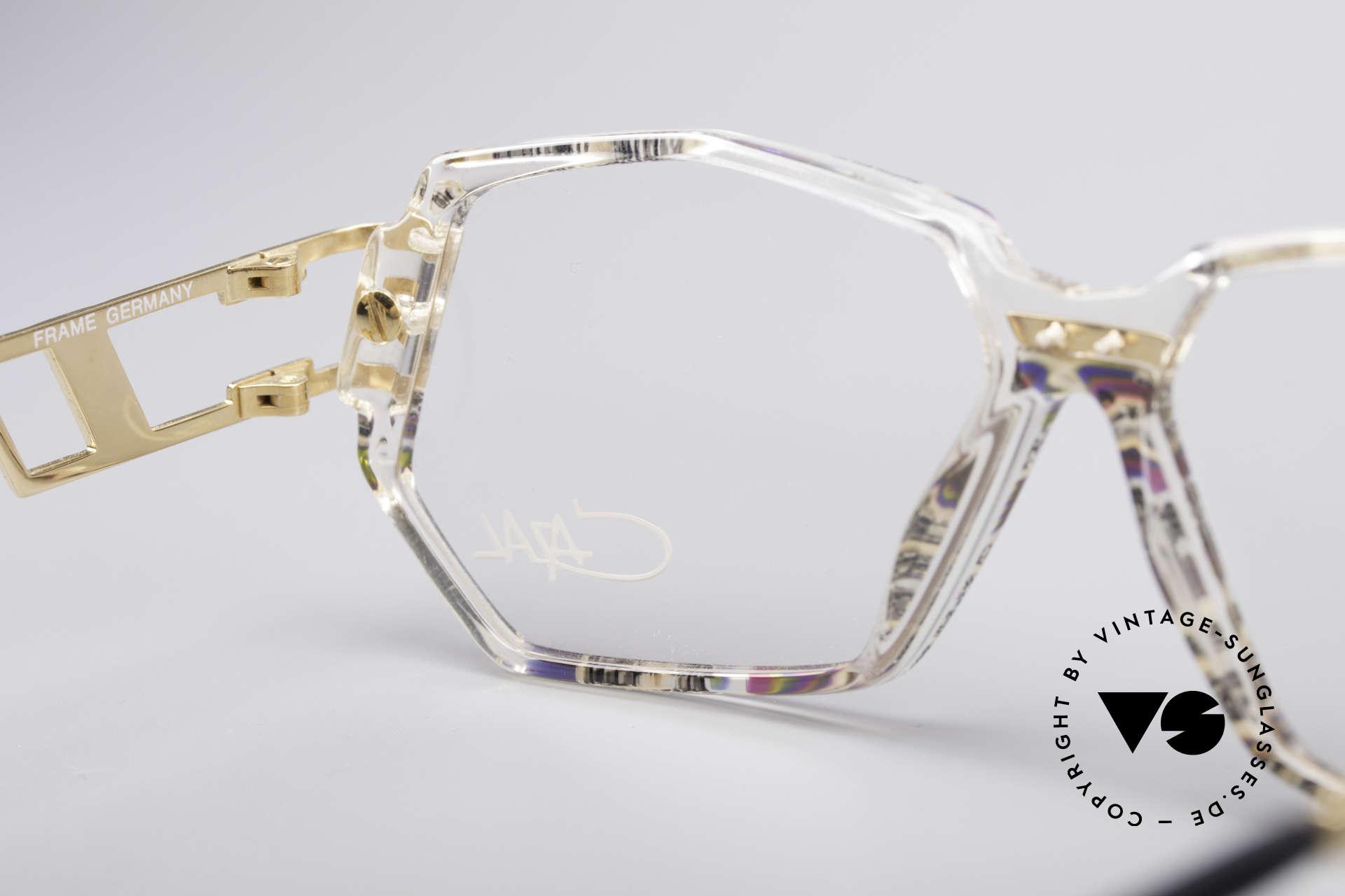Cazal 359 90er HipHop Style Brille, Größe: medium, Passend für Damen