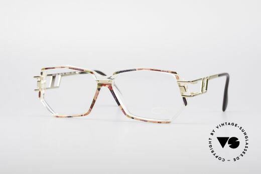 Cazal 359 90er HipHop Style Brille Details