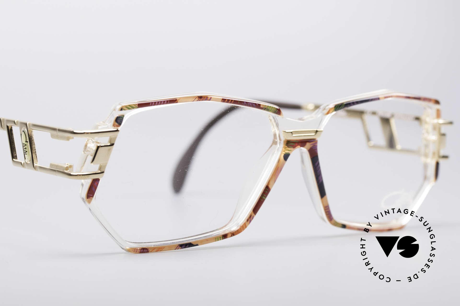 Cazal 359 90er HipHop Style Brille, KEINE Retrobrille; sondern ein altes Original von 1993, Passend für Damen