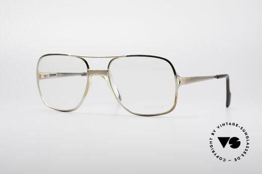 Metzler 0772 Helmut Kohl Vintage Brille Details