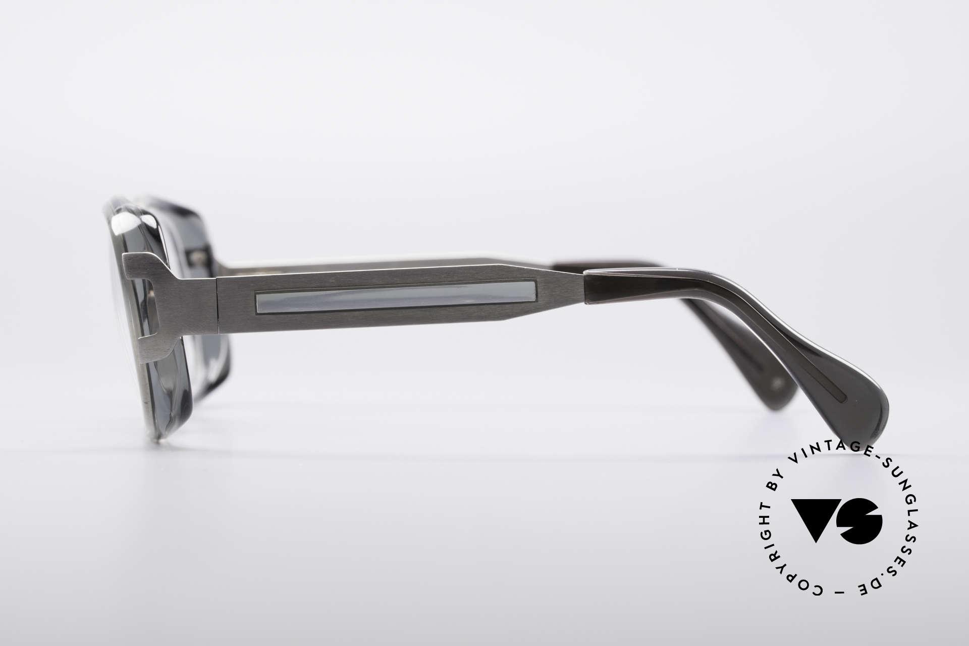 Metzler 4186 Echt 80er Vintage Kombibrille, unbeschreibliche Qualität (muss man einfach fühlen!), Passend für Herren