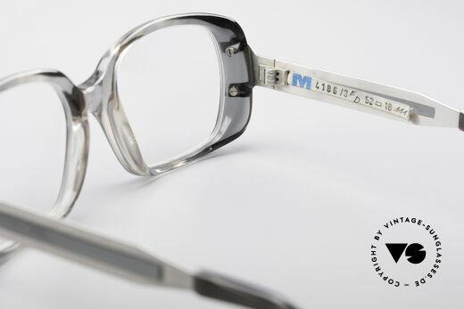 Metzler 4186 Echt 80er Vintage Kombibrille, NIE getragen (wie alle unsere 1980er vintage Brillen), Passend für Herren