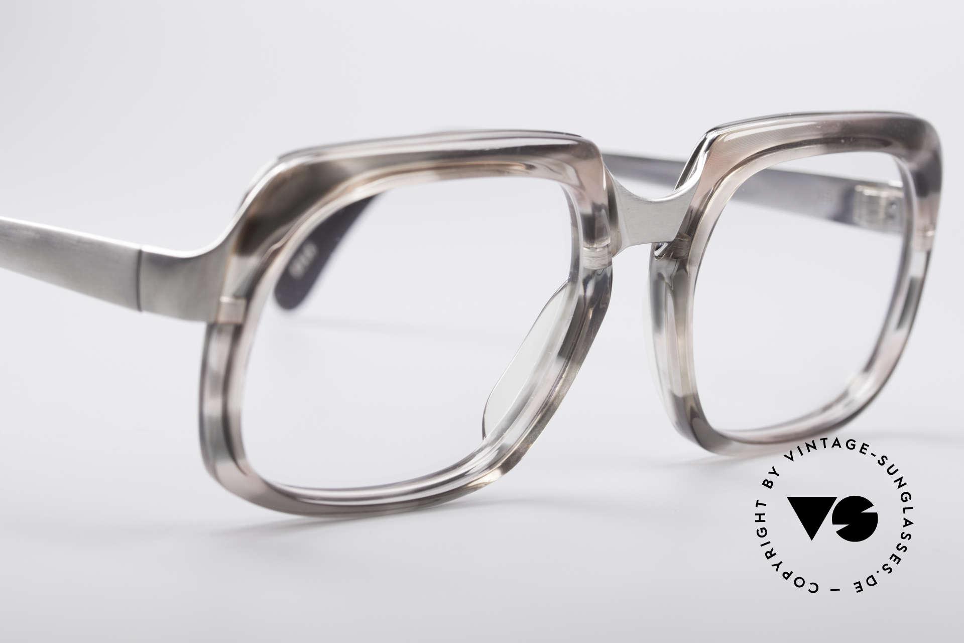 Metzler 6546 80er Vintage NO Retrobrille, ungetragen (wie alle unsere vintage Old School Brillen), Passend für Herren