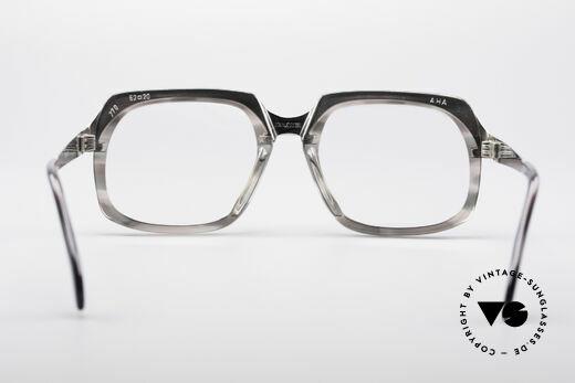 Metzler 6546 80er Vintage NO Retrobrille, Fassung kann beliebig verglast werden (optisch / Sonne), Passend für Herren