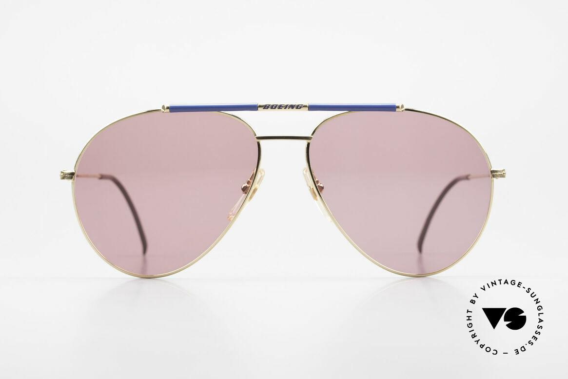 Boeing 5706 80er Piloten Sonnenbrille XL, eigens für Boeing-Piloten gefertigte Sonnenbrille, Passend für Herren