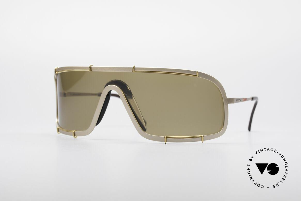 Boeing 5708 80er Luxus Sport Sonnenbrille, unglaublich seltenes Modell der 80er BOEING-Serie, Passend für Herren