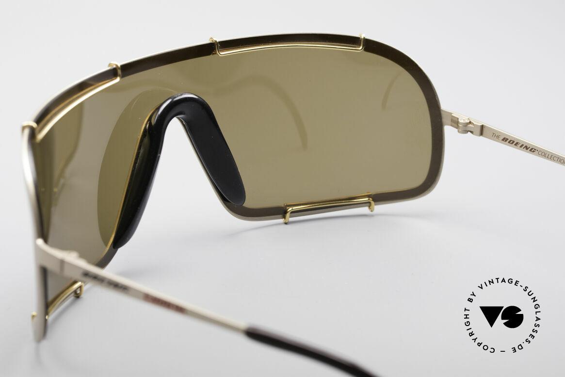 Boeing 5708 80er Luxus Sport Sonnenbrille, Kombination aus Luxus, Sport, Qualität und Lifestyle, Passend für Herren