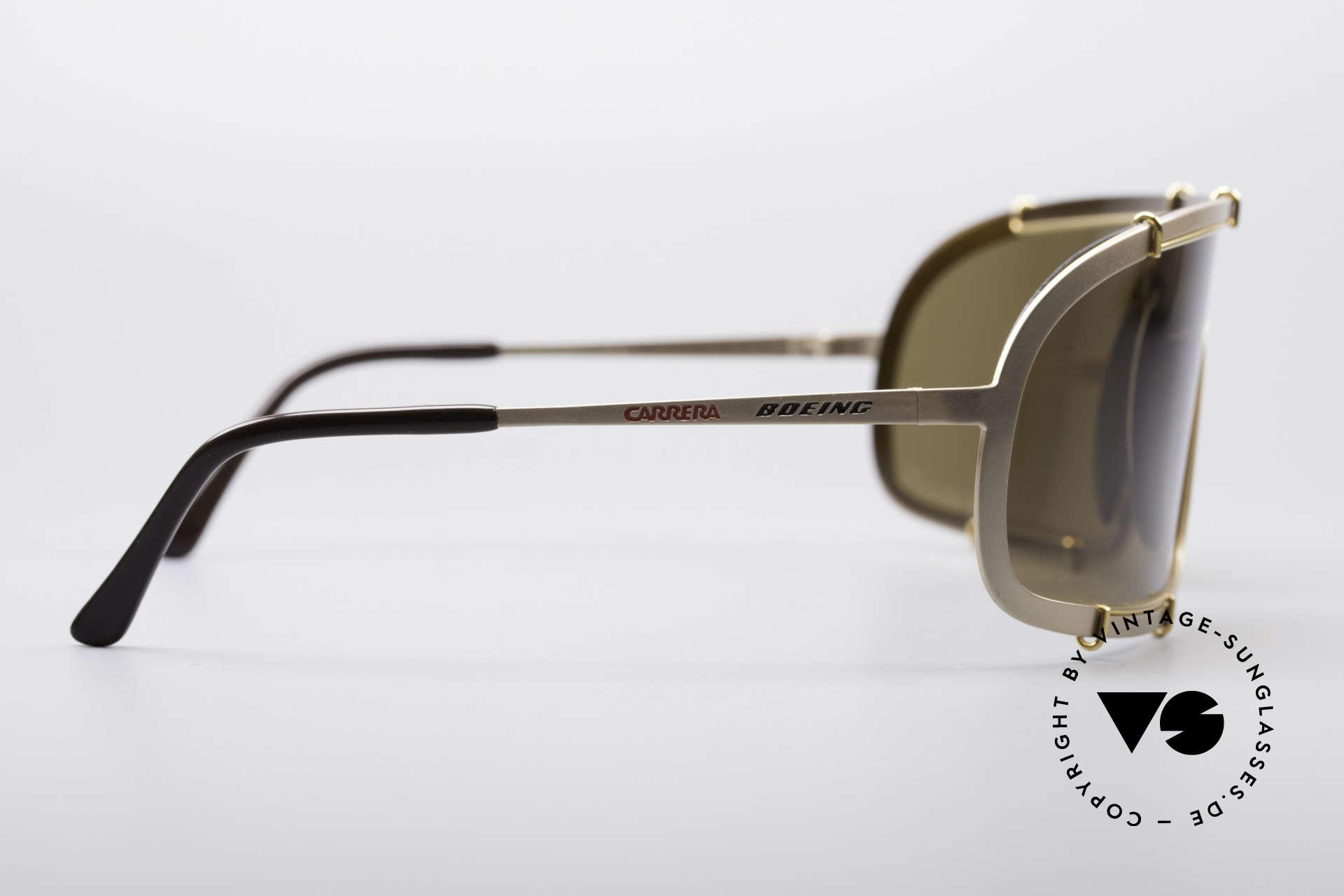 Boeing 5708 80er Luxus Sport Sonnenbrille, ungetragenes Unikat (geliefert in einem Cavalli Etui), Passend für Herren